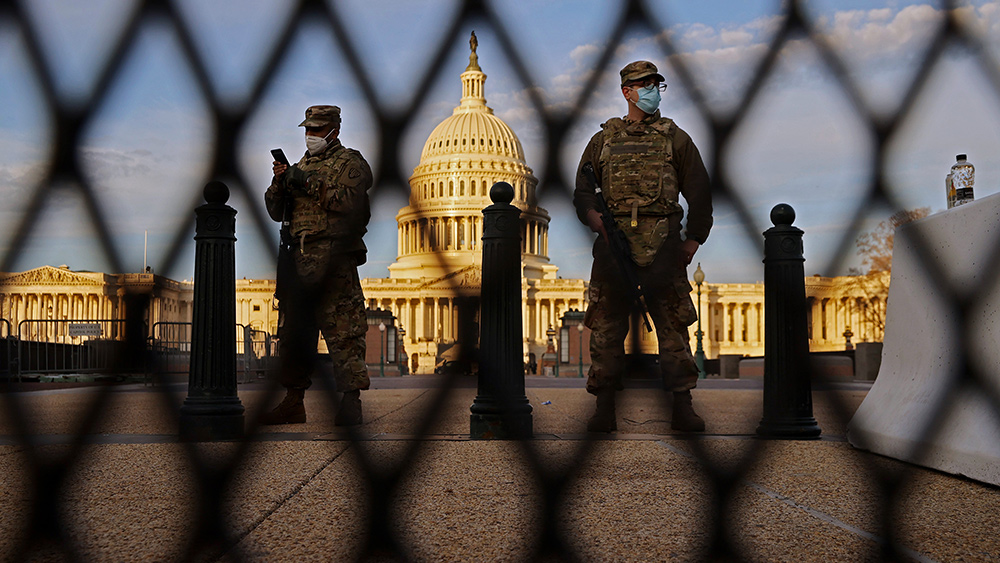 Troops National Guard US Capitol 2