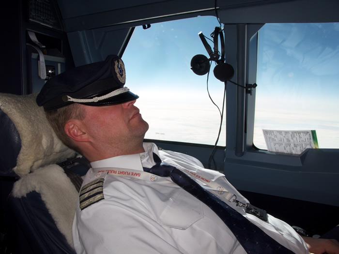 Picture Sleeping pilot