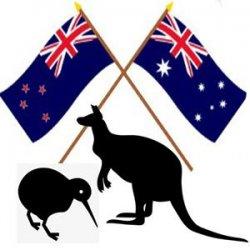 Kiwi and Aussie Bromance needs a Hug.