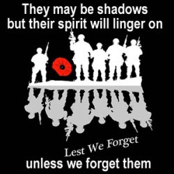Lest we forget or have we already forgotten?