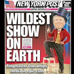 The greatest Ringmaster in the World