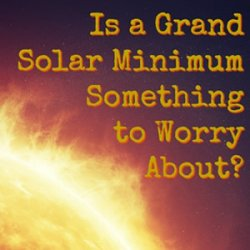 The Grand Solar Minimum vs Climate Change – get the boxing gloves out