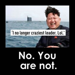Kim Jong Un is no longer the craziest leader in the world