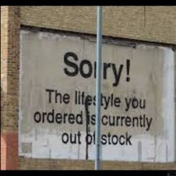 Sorry Australia - the lifestyle you ordered is out of stock