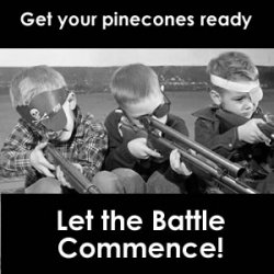 Trench Warfare, Rifles, Rice and Pinecones
