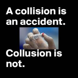 The collision or the collusion - when Truth and Science Fiction meet face to face we become faceless