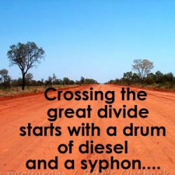 I remember ........when I crossed the Great Divide