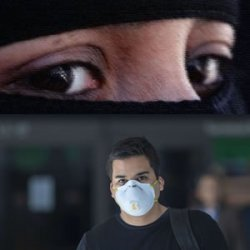 Is the Mask the Batflu Burka?