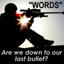 The Power of Words - they can be like sniper bullets if we use them well