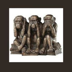 Hear no Evil, See no Evil,Speak no Evil.