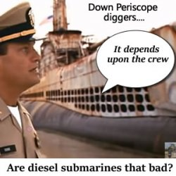 Nuclear submarines or diesel?  Or why even bother?