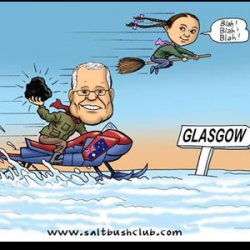 PM Morrison should take some Aussie Coal  to Chilly Glasgow