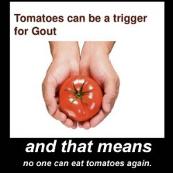 Tomatoes, Gout and Covid