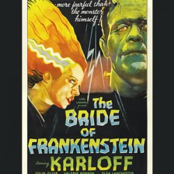 The bride of Frankenstein more fearful than the monster himself?