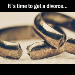Defiance or Compliance - it's time to get a divorce