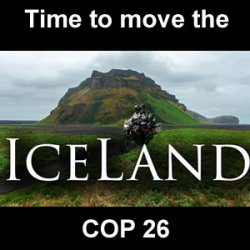 SHIFT COP 26 TO ICELAND