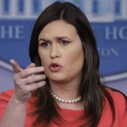 Sarah Sanders - a hard act to follow